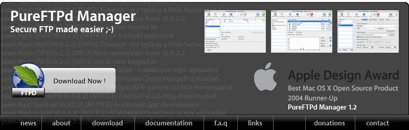 install pure ftpd mac os x
